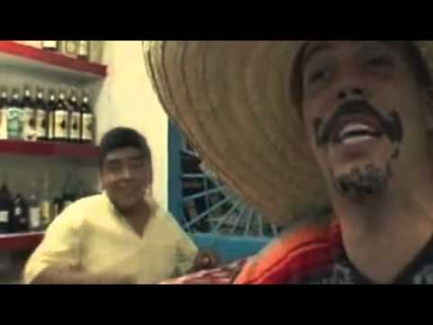 Steve-O Drinks Mezcal! (Tequila with the Worm in The Bottle) Wildboyz in Mexico