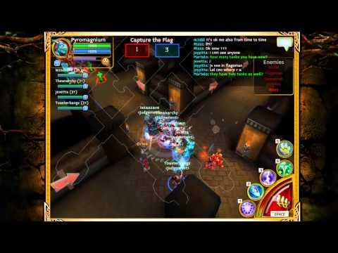 Arcane Legends: Judgement CtF/PvP (Part 1)