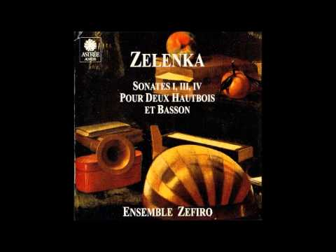 Jan Dismas Zelenka Sonatas for 2 Oboes, Bassoon and B.C. 2/2