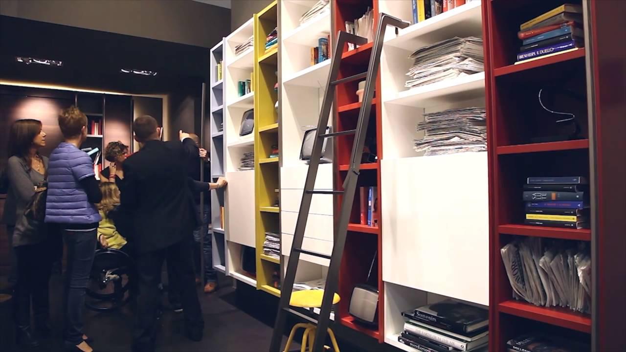 Librerie moderne EDIS by Fimar - pareti attrezzate e soggiorni di design