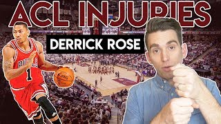 Derrick Rose ACL Injury   Doctor Explains Why FORM Matters!