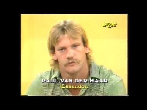 Kevin Bartlett with Paul Van Der  Haar WOS 1985