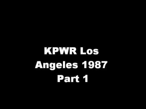 KPWR Los Angeles 1987 Part One.wmv