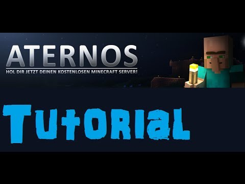 Minecraft Server kostenlos hosten - Aternos.org [German ...