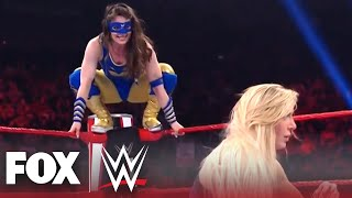 Charlotte Flair and Nikki A.S.H. face off in vicious rematch   MONDAY NIGHT RAW