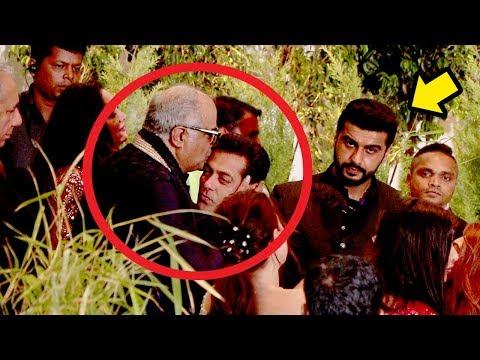 Boney Kapoor Shows LOVE & Respect For Salman Khan Makes Arjun Kapoor JEALOUS  Sonam Kapoor's Shaadi