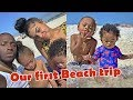 Our first beach trip in Florida 🏝VLOG! (Beach is BEAUTIFUL)