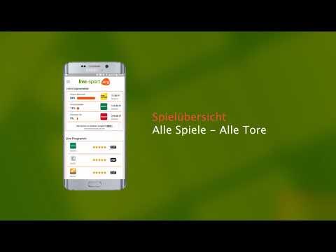 Die Fussball App Von LIVE-SPORT.ORG