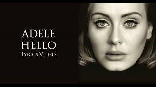 Adele Hello Lyrics Youtube