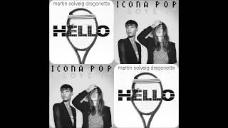 Martin Solveig VS Icona Pop - Hello, I Love It (Brrr MashUp)