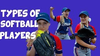 Types of Softball players | Inspired by Dude Perfect