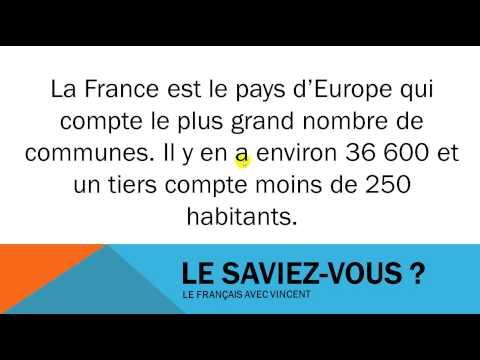 Facts about France #36600 communes françaises