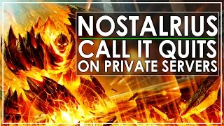 Nostalrius Vs Vanilla WoW Private Servers - Yup, You Read The Title Correctly!