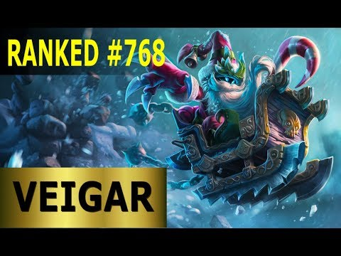 Veigar Mid - Full League of Legends Gameplay [German] Lets Play LoL - Ranked #768