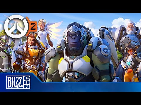 DJ MoonDawg - Blizzard announces Overwatch 2 is coming. Full Presentation Vid