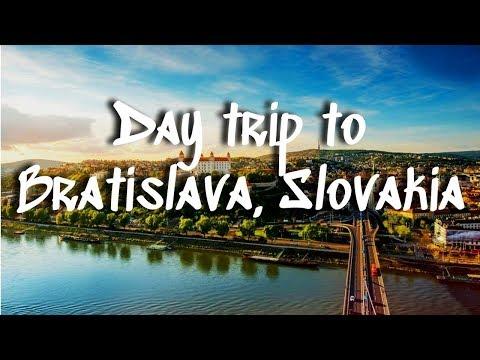 Bratislava, Slovakia || A Day Trip from Vienna, Austria
