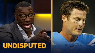 Philip Rivers is now officially a liability for the Chargers — Shannon Sharpe | NFL | UNDISPUTED
