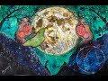 LIVE    New Moon Art using Brusho's
