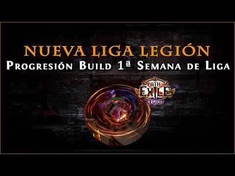 Path Of Exile - Liga Legión 3.7 || Progresión De La Build  Champion Cyclone (1ª Semana)