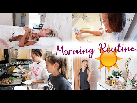 Morning Routine for Family of 7!