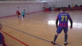 Луч Виоком Орбита 1 тайм Чемпионат мини футбол 2020 21