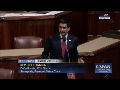 Ro Khanna RIPS Congress In Passionate Must See Speech
