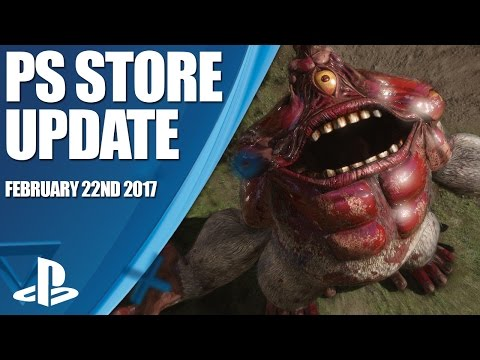 PlayStation Store Highlights - 22nd February 2017