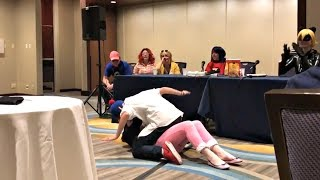 Adrienette at Anime Midwest 2017   Miraculous Ladybug Panel