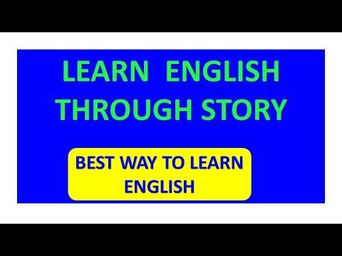 spoken english through stories || learn english through story || speak English