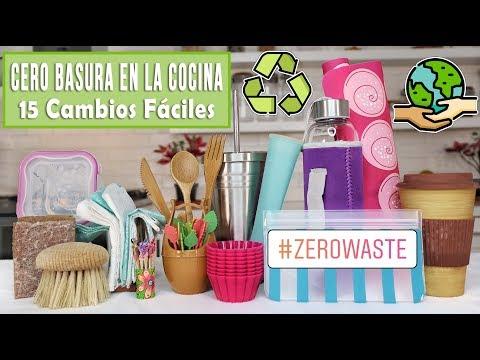 CERO BASURA EN LA COCINA - CAMBIA ESTO POR ESTO - ZERO WASTE - Mixi