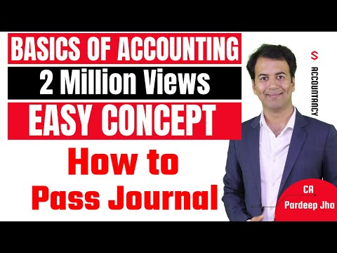 Accounting basics & Journal entries - Accounting Class 11 -
