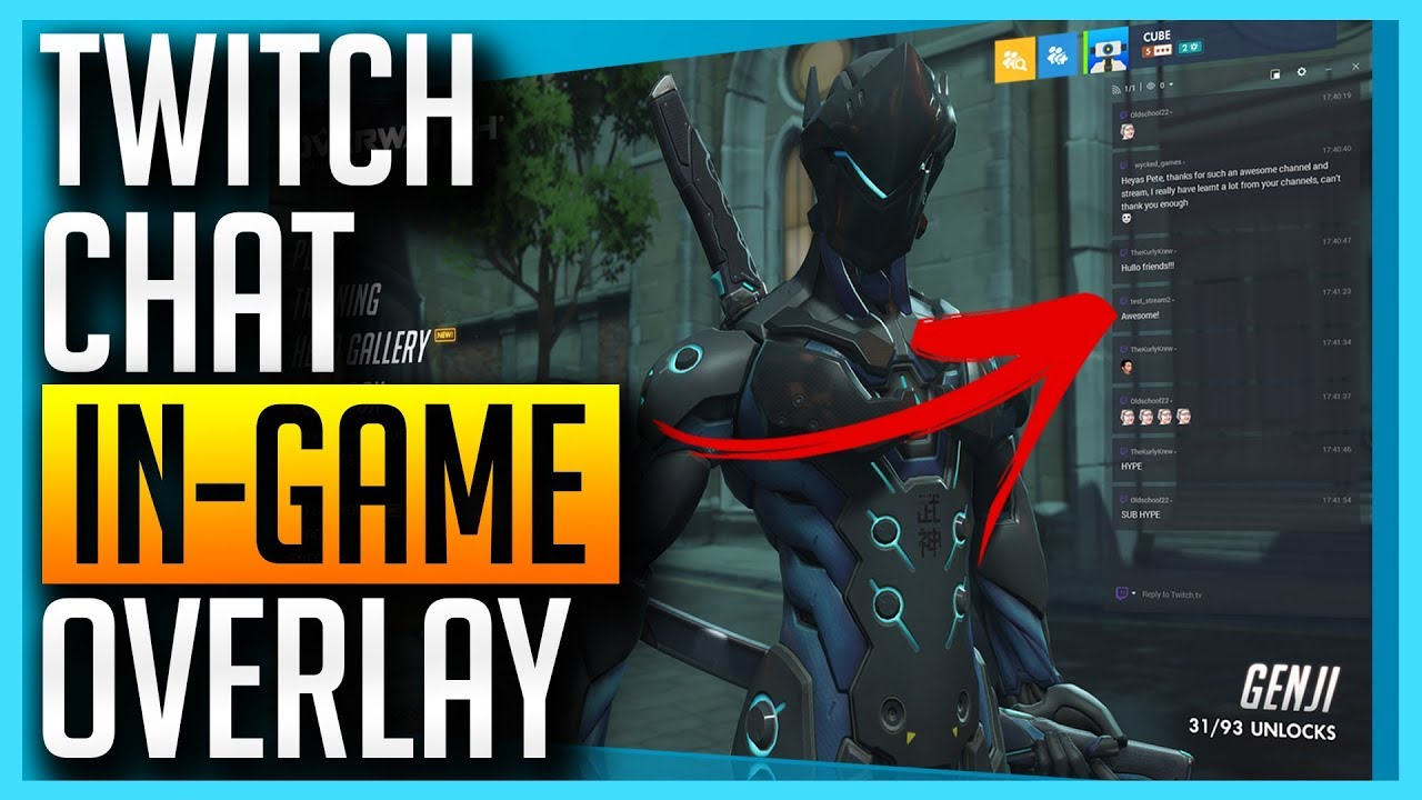 How To Get Twitch Chat IN-GAME With This Awesome FREE