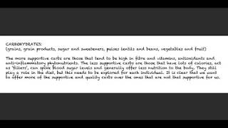 5  Nutrition Basics Part 5 - Quality Carbohydrates - Introduction and Grains
