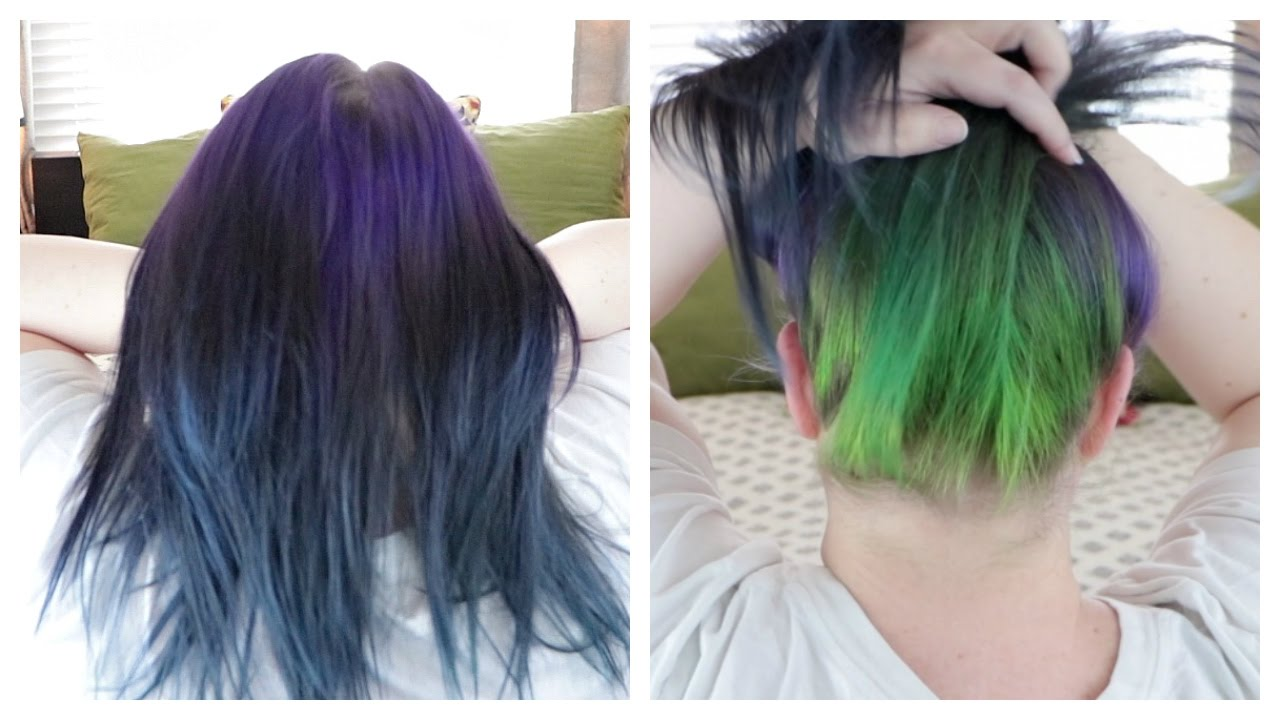 How To Remove Haircolor Without Bleach Vitamin C Shampoo Youtube