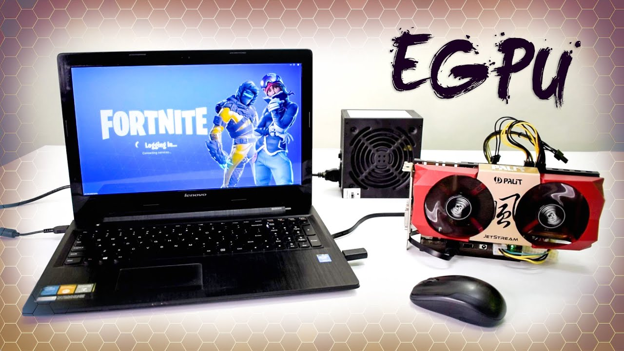 How to Setup External Graphics Card on a Laptop for CHEAP !! - eGPU  Tutorial (2019)