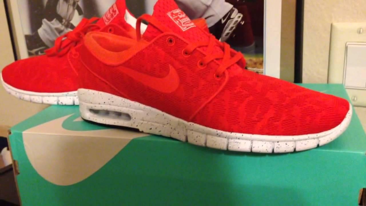 28a107411b Nike sb stefan janoski max crimson - YouTube