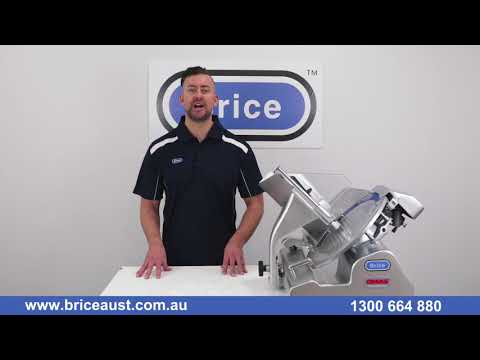 How to Use & Clean A Commercial Meat Slicer Brice Australia