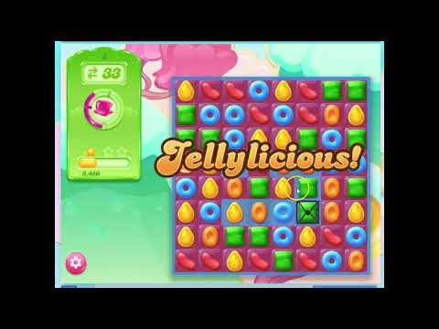 Candy Crush Jelly, Level 2 Audio Talkthrough, 0 Boosters