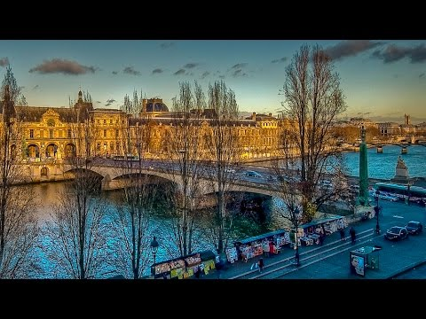 A Walk On The Quai Voltaire, Paris