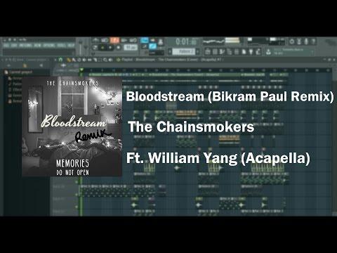 The Chainsmokers - Bloodstream (Bikram Paul Remix) Ft. William Yang || MusicMemes