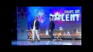 Men At Work GOT TALENT, Tommaso Oppedisano & Daniele Allevi