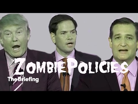 Hillary Clinton releases Halloween-themed attack ad against the Republican field