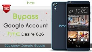 Bypass Google Account HTC DESIRE 626 Remove FRP