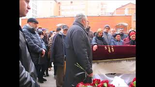 Прощание с волонтером Леонидом Краснопольским