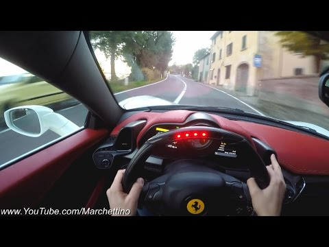 YOU Drive the Ferrari 458 Italia FAST! - POV Test Drive