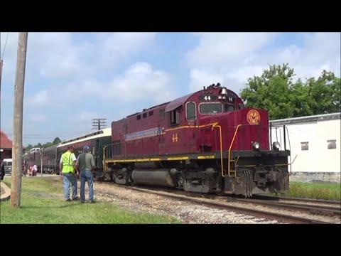 [HD] Alcos in the Ozarks; Chasing the Arkansas & Missouri Railroad: 7/25/14