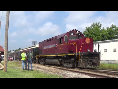 [HD] Alcos in the Ozarks; Chasing the Arkansas & Missouri Railroad: 7/25/14