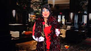 """This Be The Verse: Lip-sync: Dorothy Parker reading """"One Perfect Rose"""""""