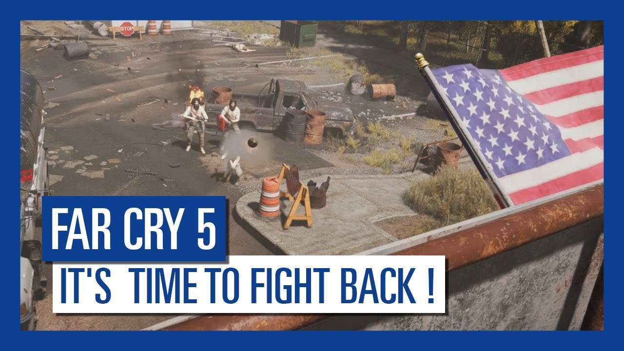 Far Cry 5 review – cults, chaos and all-American silliness