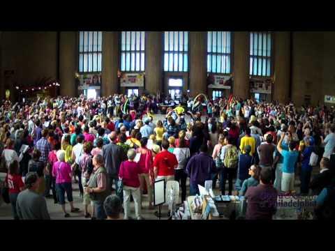 "Opera Company of Philadelphia Amtrak 30th St Station ""O Fortuna"" Random Act of Culture"